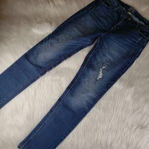 Justice Mid Rise Super Skinny Jeans Juniors 16Plus